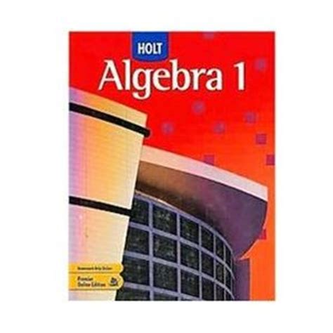 Texas homework and practice workbook holt mathematics course 3