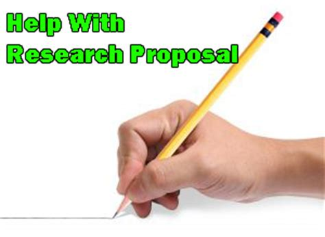 Purpose of thesis proposal